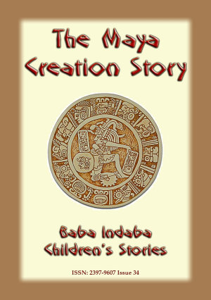 THE MAYA CREATION STORY - Cover