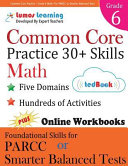 Common Core Practice   Grade 6 Math PDF