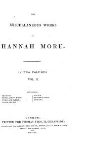 The Miscellaneous Works of Hannah More: Volume 2
