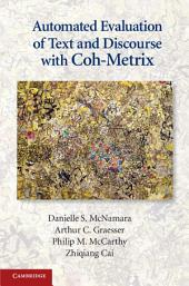 Automated Evaluation of Text and Discourse with Coh-Metrix