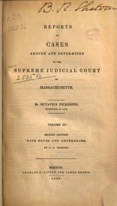 Massachusetts Reports: Decisions of the Supreme Judicial Court of Massachusetts, Volume 20