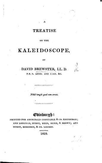 A Treatise on the Kaleidoscope PDF