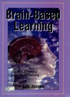 Brain Based Learning  The New Science Of Teaching And Training PDF