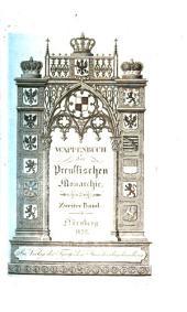 Wappenbuch der preussischen Monarchie: Mit 100 Tafeln, Band 2