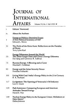 Journal of International Affairs PDF