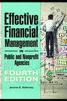 Effective Financial Management in Public and Nonprofit Agencies  4th Edition PDF