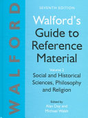 Download Walford s Guide to Reference Material  Social and historical sciences  philosophy and religion Book