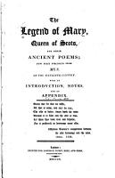 The Legend of Mary  Queen of Scots PDF