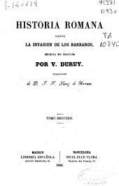 Historia romana: hasta la invasión de los barbaros, Volumen 2