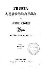 Frusta letteraria di Aristarco Scannabue: 2, Volume 2