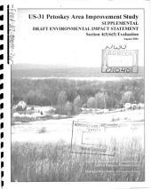 US-31 Petoskey Area Transportation Improvement Project, City of Petoskey, Emmet County: Environmental Impact Statement