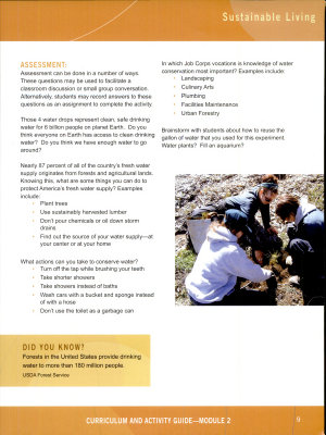 Job Corps  Climate Change  Curriculum and Activity Guide  Module 1  September 2010 PDF