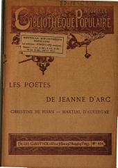 Les poètes de Jeanne d'Arc Martial d'Auvergne