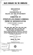 Hearings, Reports and Prints of the House Committee on Interstate and Foreign Commerce