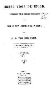 Bijbel voor de jeugd: tafereelen uit de gewijde geschiedenis voor christen-huisgezinnen, Volume 4