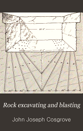 Rock excavating and blasting