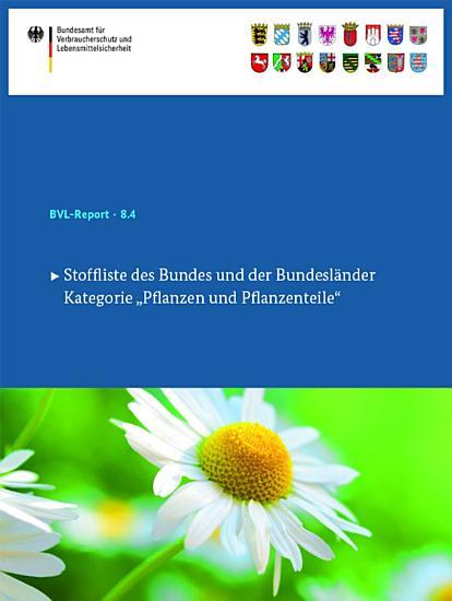 Stoffliste des Bundes und der Bundesl  nder PDF