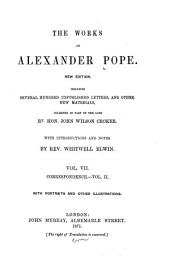 The Works of Alexander Pope: Volume 7