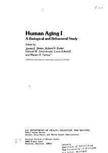 Human Aging I