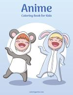 Anime Coloring Book for Kids 1
