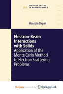 Electron-Beam Interactions with Solids