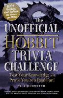 The Unofficial Hobbit Trivia Challenge
