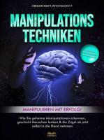 Manipulationstechniken   Manipulieren mit Erfolg  PDF