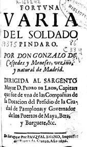 Fortuna varia del soldado Pindaro