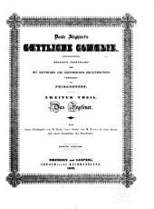 Dante Alighieri's Goettliche Comoedia: Band 2