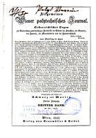 Allgemeines Wiener polytechnisches Journal PDF