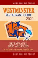Westminster Restaurant Guide 2022