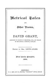 Metrical tales and other poems, ed. by mrs. Leith-Adams. 1st ser. complete
