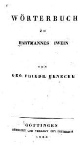 Wörterbuch zu Hartmannes Iwein