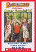 Karen  Hannie   Nancy  The Three Musketeers  Baby Sitters Little Sister Super Special  4  PDF