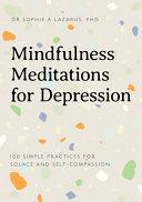Mindfulness Meditations for Depression