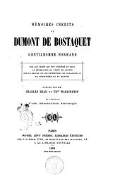 Memoires inedits de Dumont De Bostaquet gentilhomme normand publies par Charles Read, Fr.cis Waddington