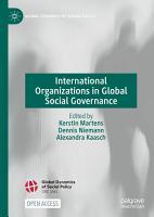 International Organizations in Global Social Governance PDF