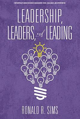 Leadership  Leaders and Leading PDF