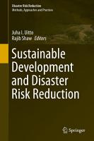 Sustainable Development and Disaster Risk Reduction PDF