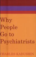 Why People Go to Psychiatrists PDF