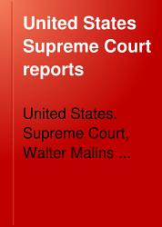 United States Supreme Court Reports Book PDF
