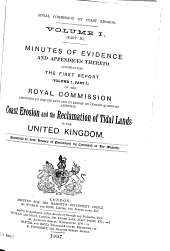 Parliamentary Papers, House of Commons and Command: Volume 34