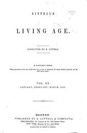 Littell's Living Age: Volume 20