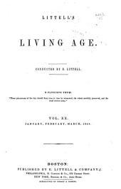 Littell's Living Age: Volume 20