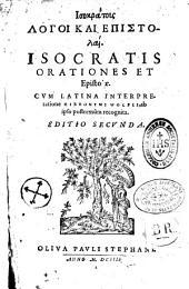 Isokratous Logoi kai epistolai