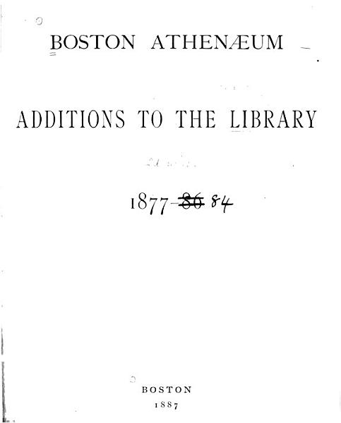 Download Additions to the Library Book