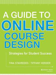 A Guide To Online Course Design Book PDF