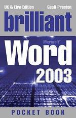Brilliant Microsoft Word 2003 Pocket Book