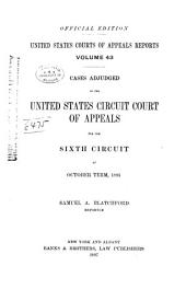 United States Courts of Appeals Reports: Cases Adjudged in the United States Circuit Court of Appeals, Volume 43