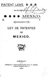 Patent Laws of Mexico
